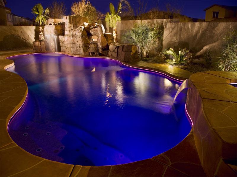 David Pool And Spa Swimming Pool Lighting From Swimming