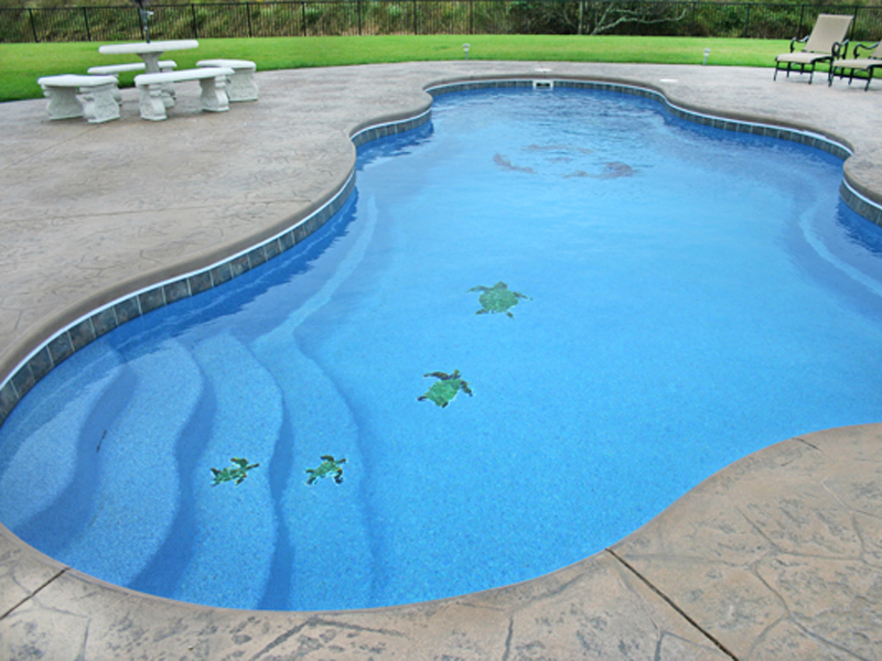 David pool and spa swimming pool mosaic tile swimming pool builder for odessa tx and for How to clean mosaic tiles in swimming pool