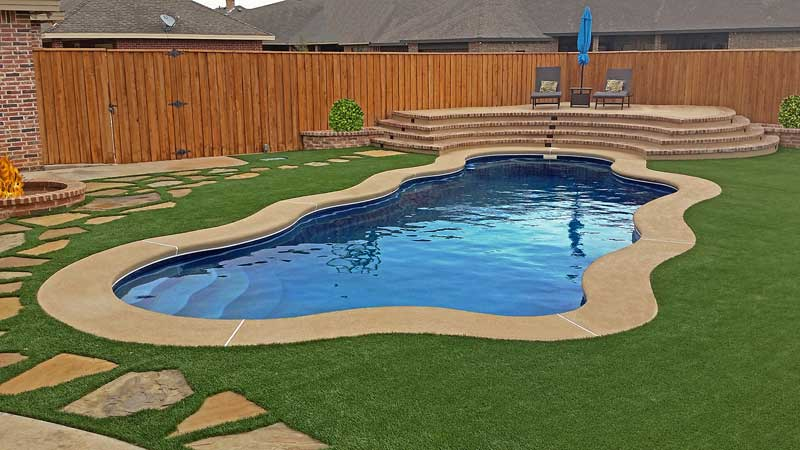 Specialty Decking from David Pool and Spa