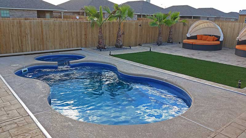 David pool and spa specialty decking from swimming pool for Viking pools