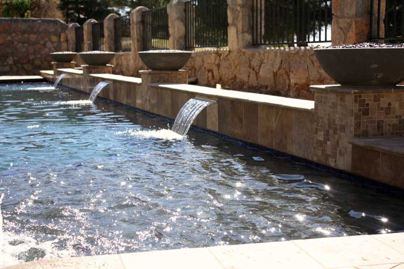 Water Features from David Pool and Spa