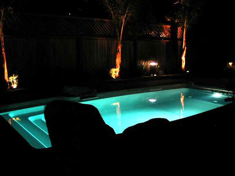 David Pool And Spa Swimming Pool Lighting From Swimming